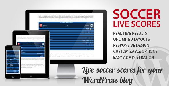 Fussball Live Ticker Wordpress Plugins