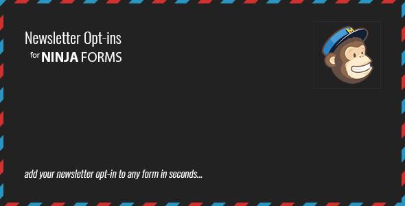 Ninja Forms Newsletter Opt-ins - Wordpress|Plugins