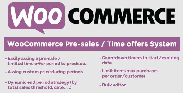 Woocommerce Pre Sale Angebot System Wordpressplugins