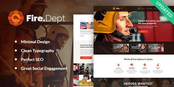 Fire Department - Feuerwehr WordPress Theme