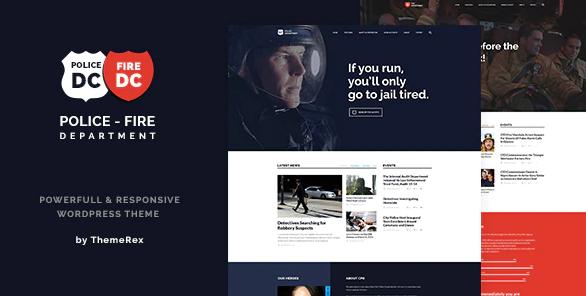 Polizei und Feuerwehr Theme