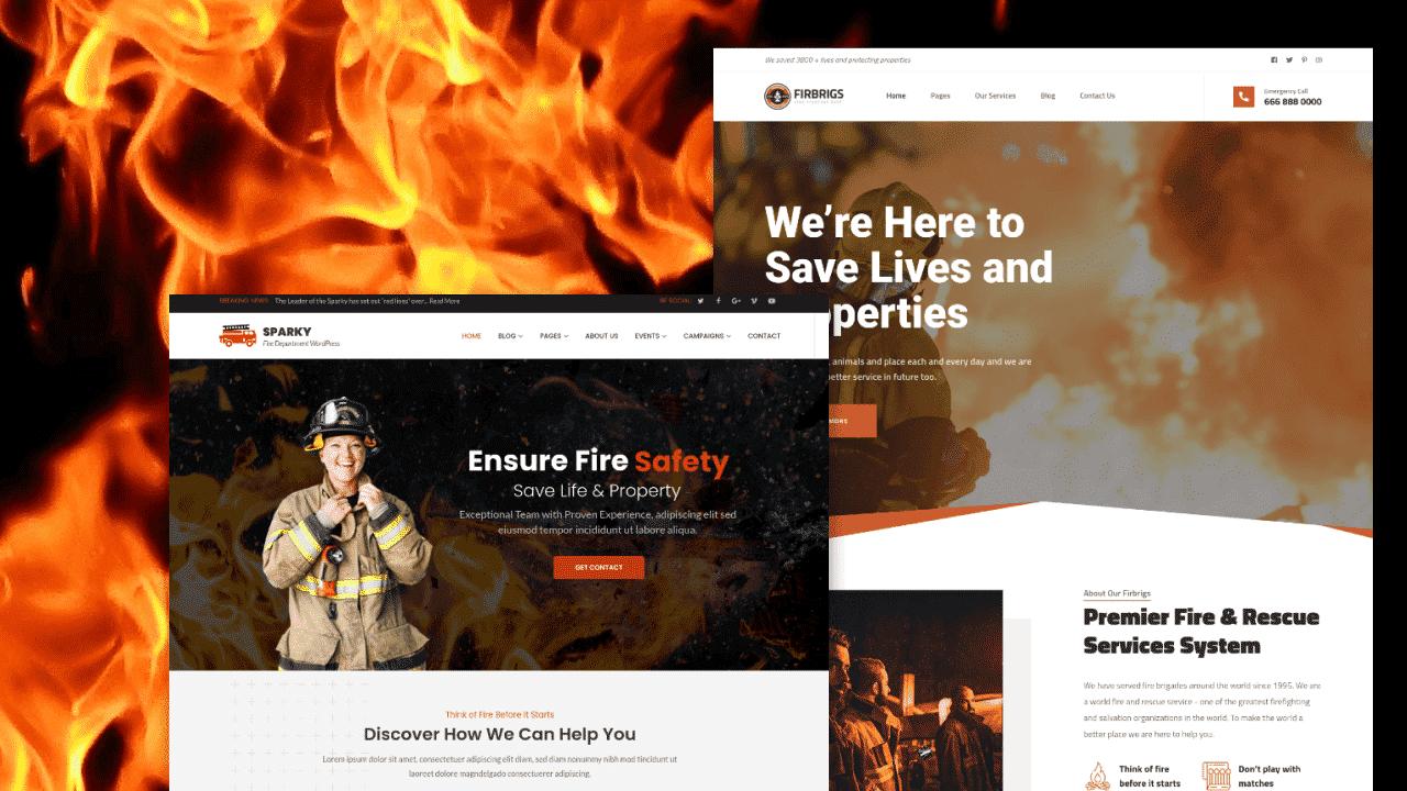 10 beste Wordpress Feuerwehr Themes